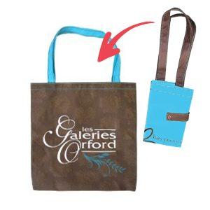 Bag  - Reusable foldable  14x15x5