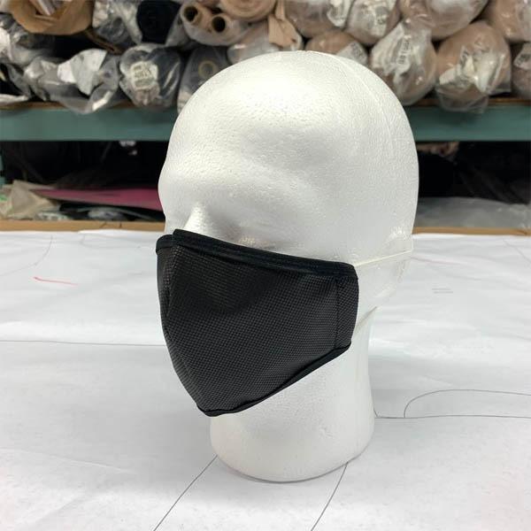 Black Poylpropylene (AFNOR) Mask Made in Canada byTex-Fab