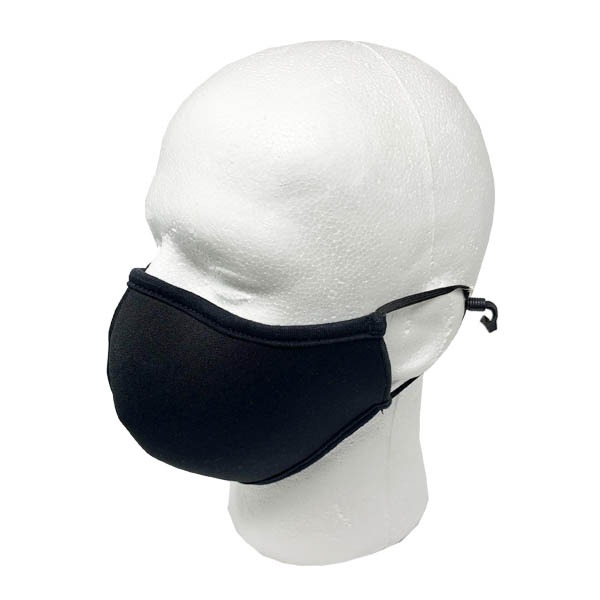 3-ply face mask Tex-Fab Made in Canada black