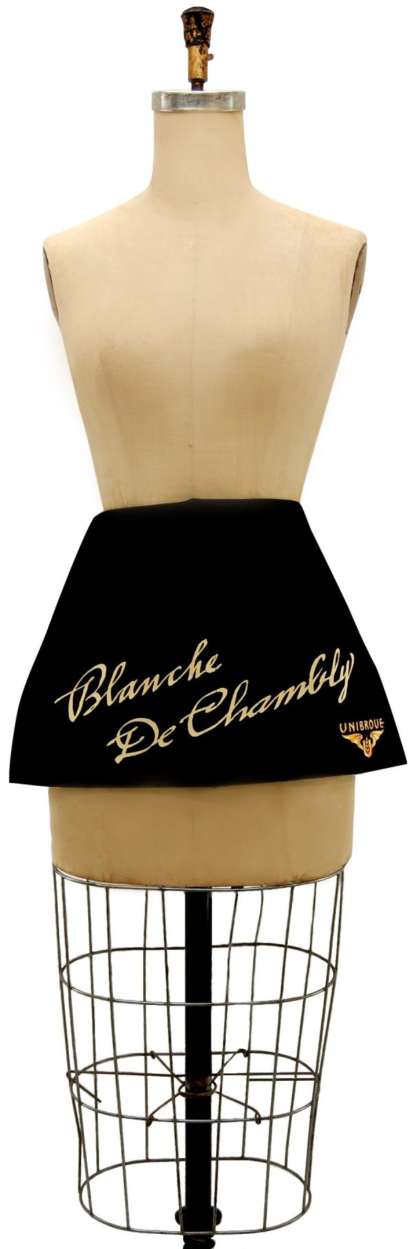 Server waist aprons black made in Canada by Tex-Fab