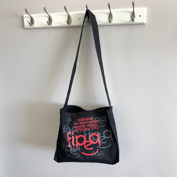 reusable polycotton tote bag made in Canada by Tex-Fab 44-6592